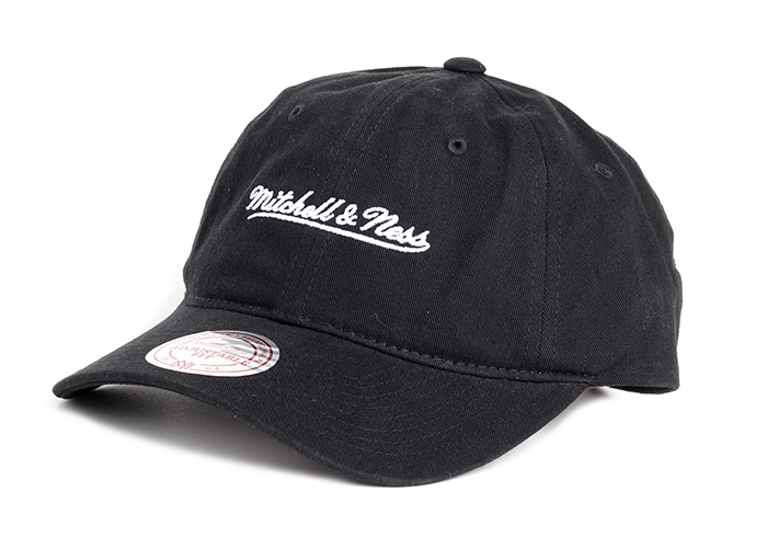 Mitchell & Ness Team Logo Low Pro Black