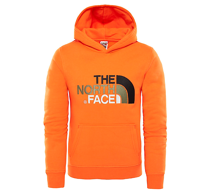 The North Face Youth Drew Peak Hoodie Persian Orange