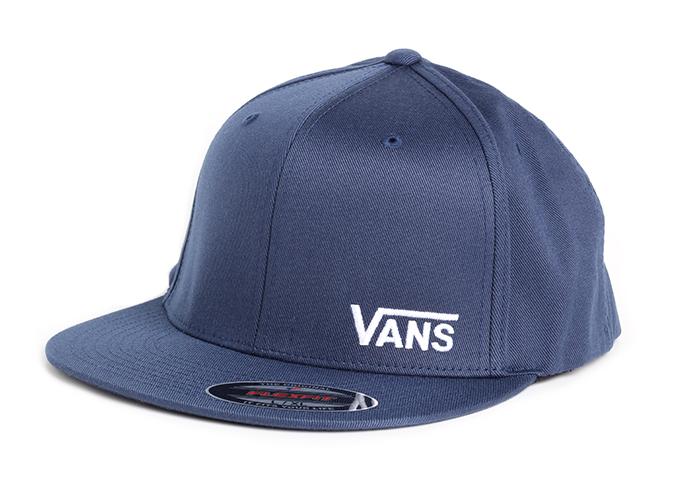 Vans Splitz Flexfit Hat Dress Blues