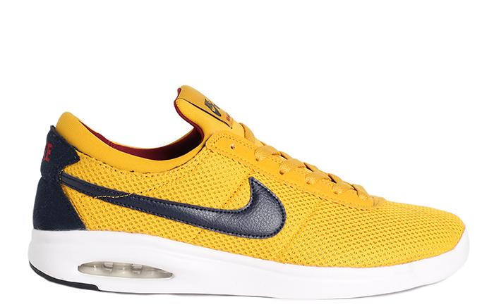 Nike SB Air Max Bruin Vapor Textile Yellow Ochre   Obisidian ... 9e7be1b0e