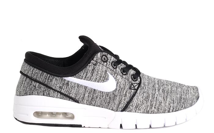 Nike SB Janoski Max Youth Black / White - Grey