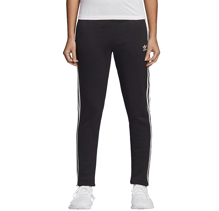 b5aabd6bcfb7 Adidas Womens Regular Cuffed Track Pants Black - Boardvillage