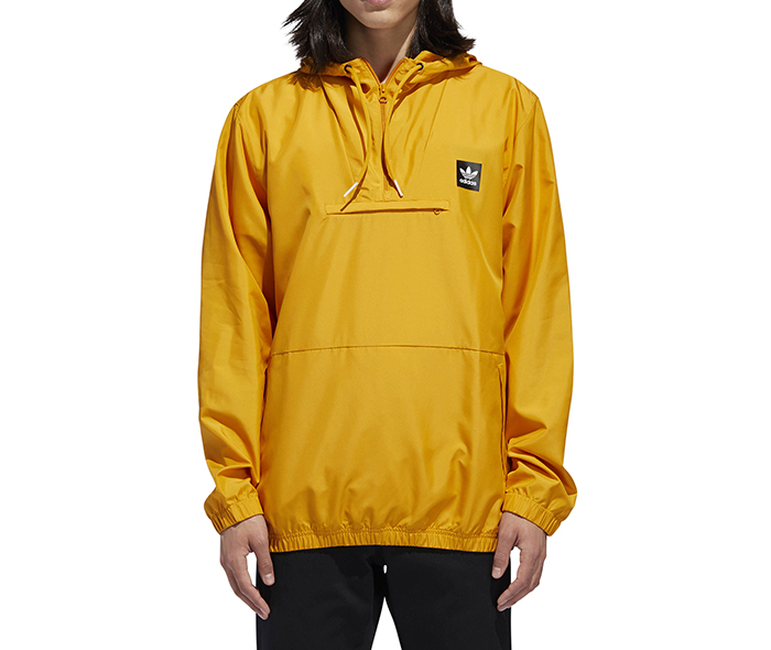 47f52b339 Adidas Hip Packable Jacket Tactile Yellow - Boardvillage