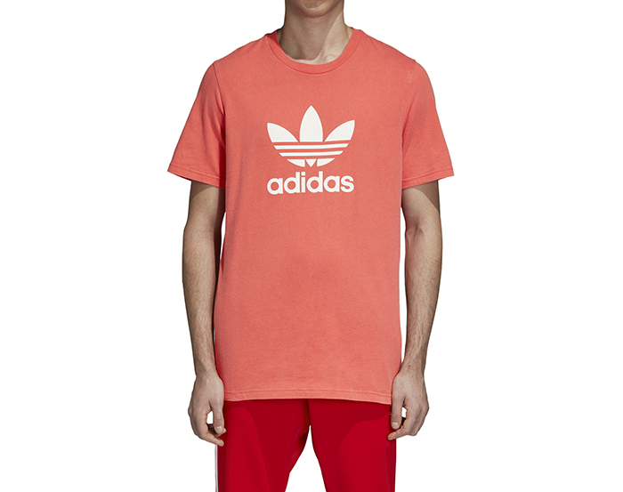 Adidas Originals Trefoil Tee Bright Red