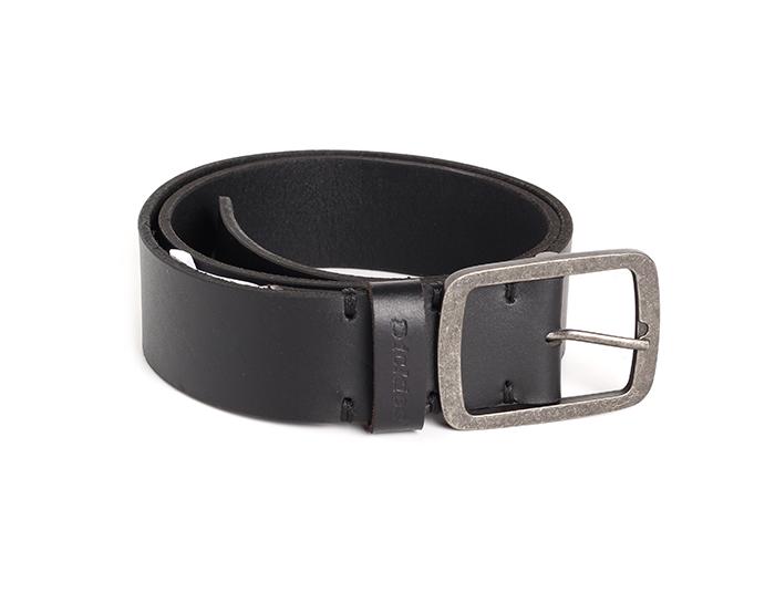 Dickies Eagle Lake Leather Belt Black