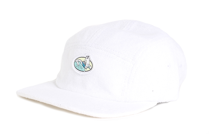 RIPNDIP Paradise 5 Panel Terry Cloth White