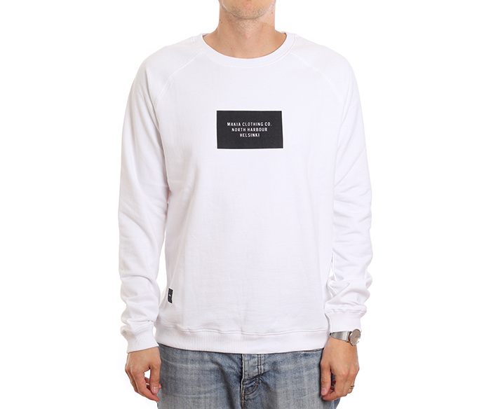 Makia Freight Sweatshirt White