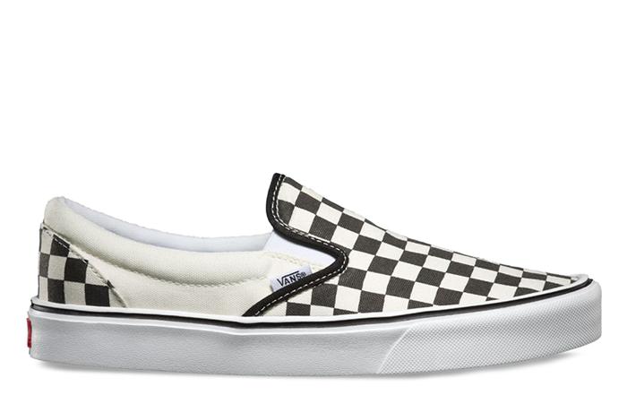 e460d760529 Vans Slip-On Lite Checkerboard Black   White - Boardvillage