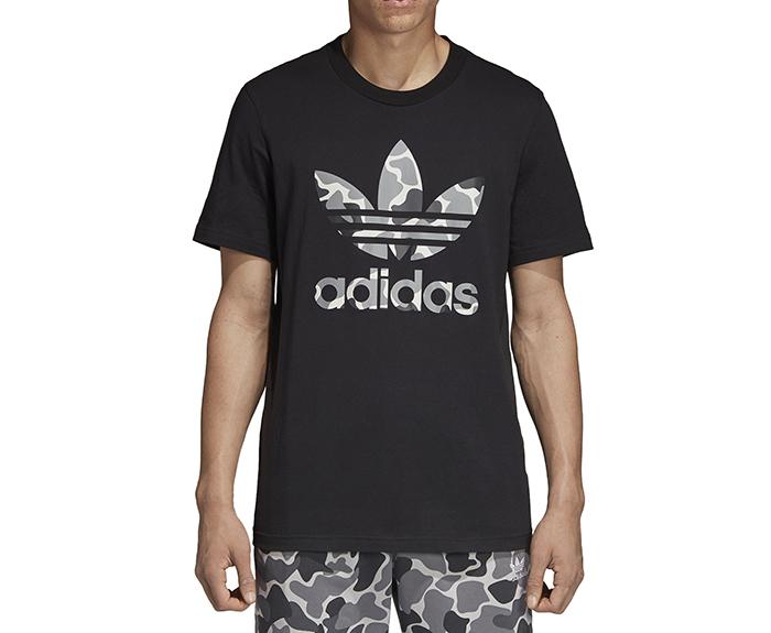 Adidas Originals Camouflage Trefoil Tee Black