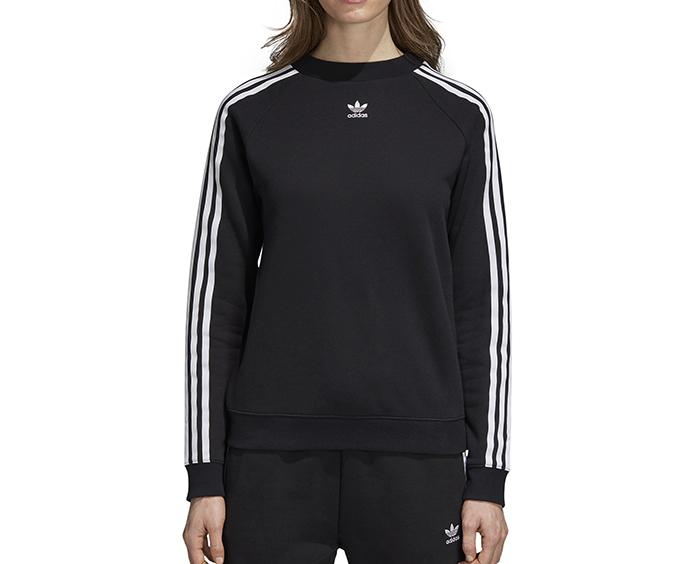 Adidas Womens Trefoil Sweatshirt Black