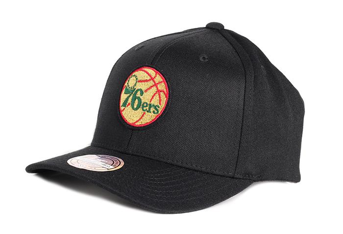 Mitchell & Ness Luxe 110 Snapback Philadelphia 76ers