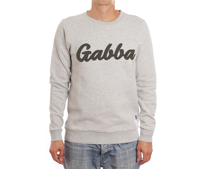 Gabba Thomas Logo O-Neck Sweatshirt Army