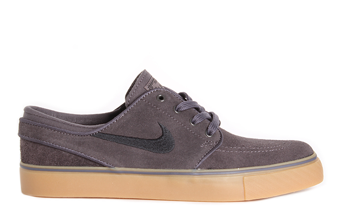 Nike SB Janoski Youth Thunder Grey   Black - Gum Light Brown ... dc628dc624