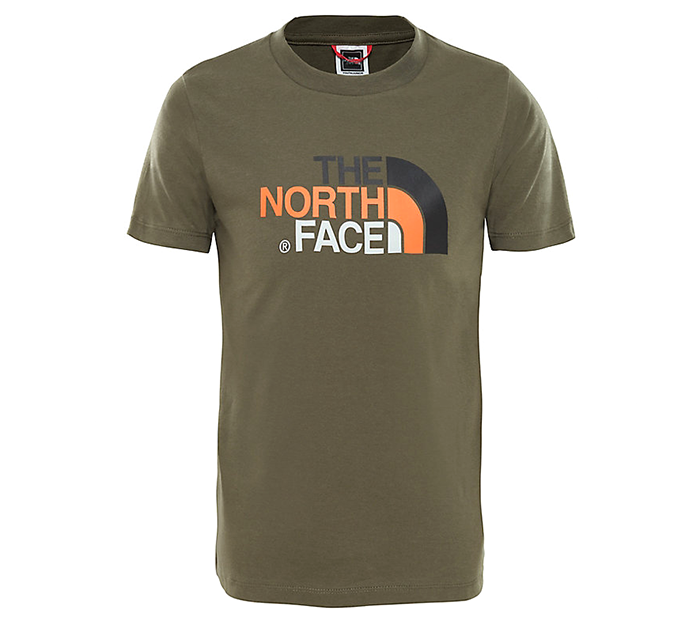 The North Face Youth Easy Tee New Taupe Green