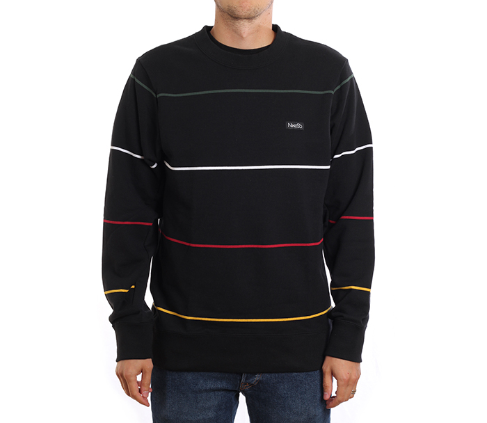 Nike SB Everett Striped Top Black / Black