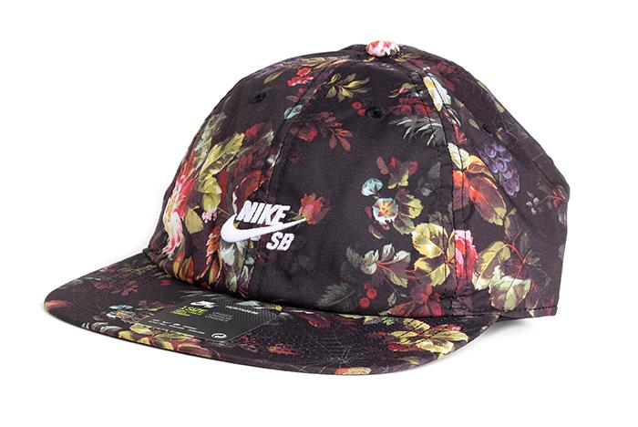 1eeaa2a8d1cca Nike SB H86 Cap AOP Black   White - Boardvillage