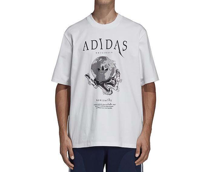 Adidas Planetoid Tee White