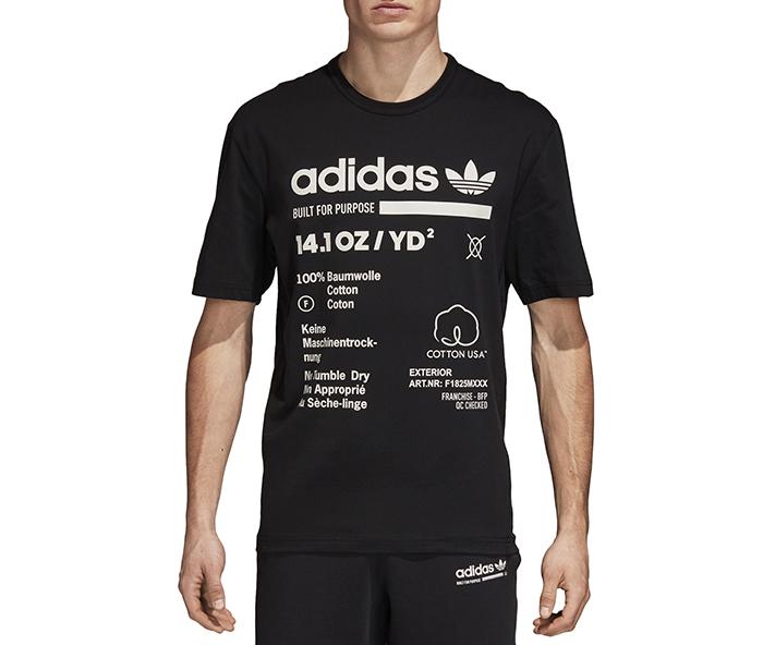 Adidas Kaval Tee Black / Cloud White