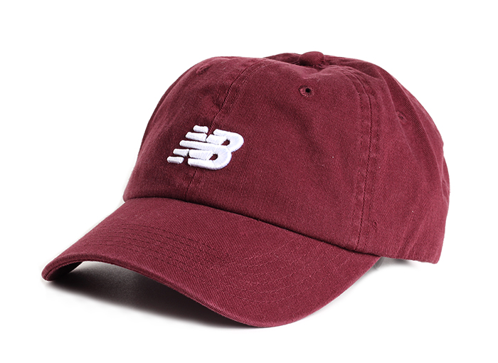 New Balance Classic Curved Brim Hat Burgundy