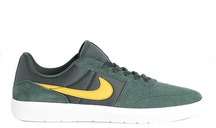Nike SB Team Classic Midnight Green / Yellow Ochre