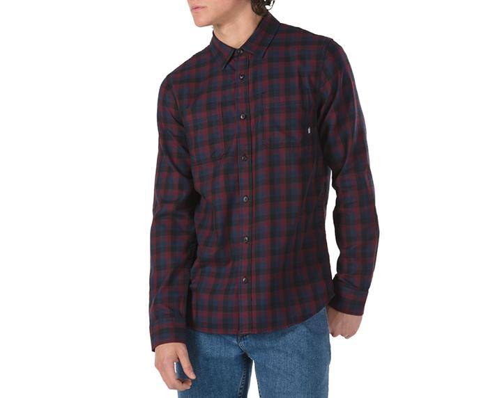 Vans Alameda II Flannel Shirt Black / Port Royale
