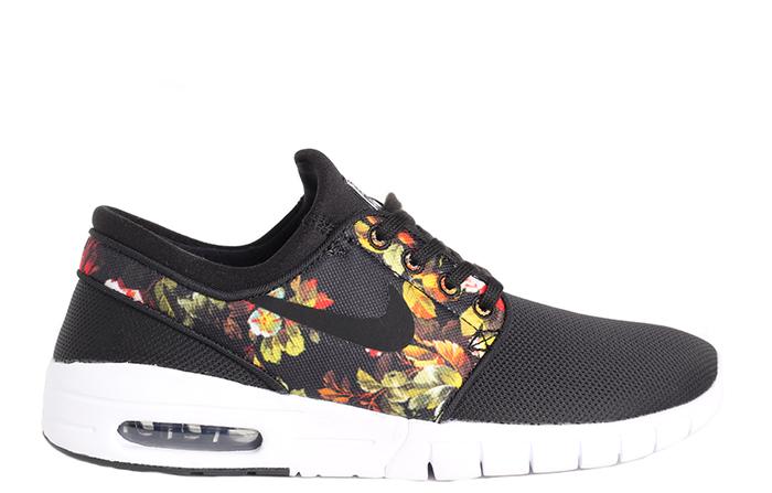 66b9c1c2cef0 Nike SB Janoski Max Black   Black - Multicolour - Boardvillage