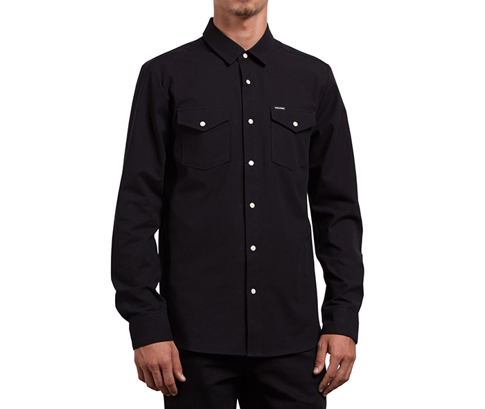 Volcom Hayes Shirt Black