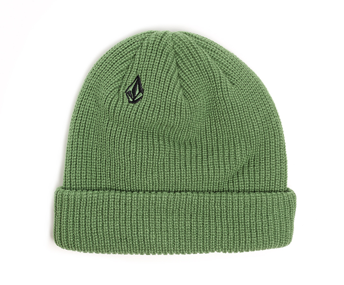 Volcom Full Stone Beanie Dark Kelly