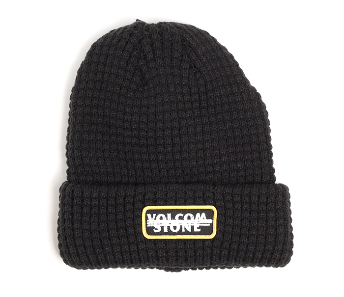 a1de7c6fb9050 Volcom Scribble Stone Beanie Black - Boardvillage