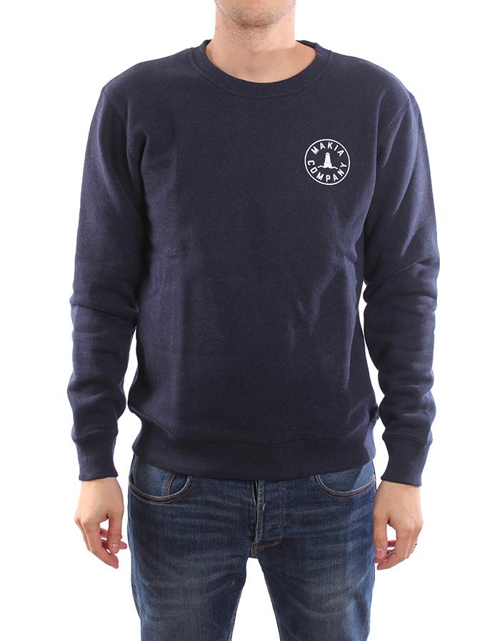 Makia Trade Sweatshirt Navy