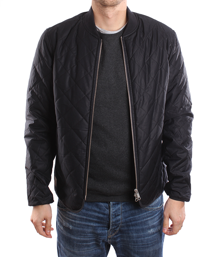 Makia Quilted Jacket Navy