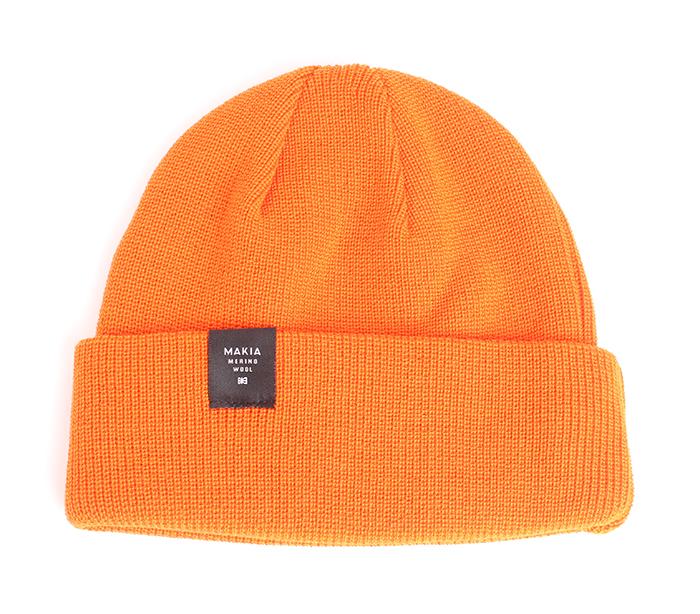 Makia Merino Thin Cap Orange