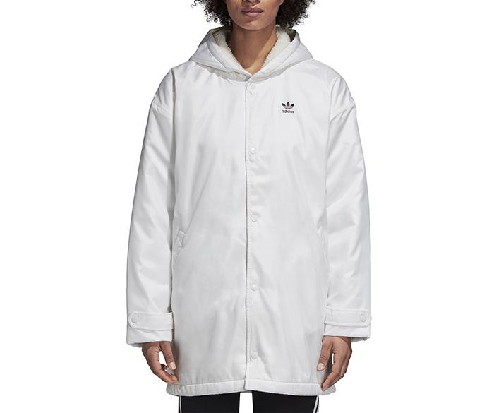 Adidas Womens Adicolor Jacket White
