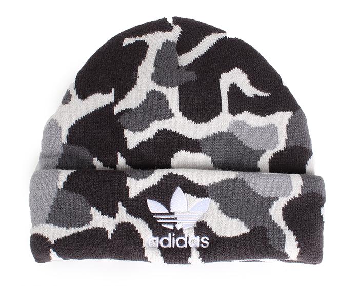 Adidas Beanie Camo / White