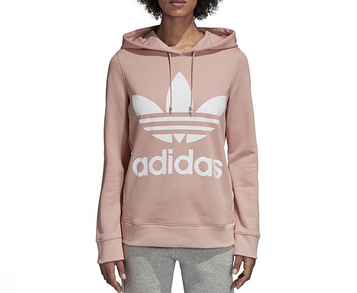 adidas womens trefoil hoodie