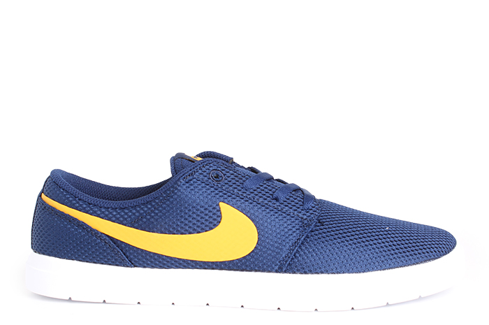 Nike SB Portmore II Ultralight Blue Void / Yellow Ochre - White