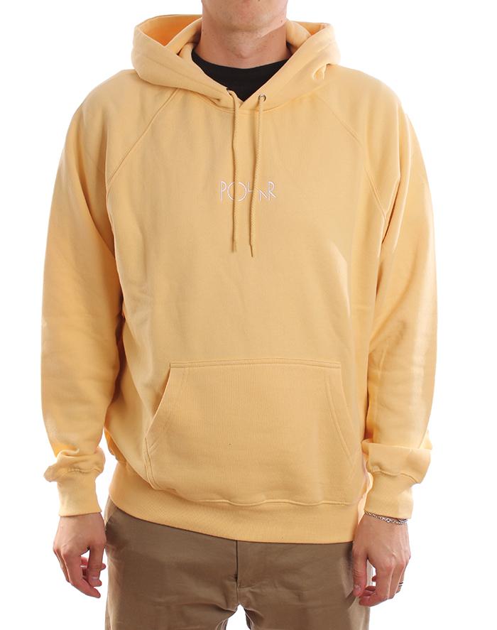 Polar Skate Co. Default Hoodie Light Yellow