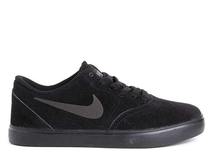 Nike SB Check Suede Youth Black / Black
