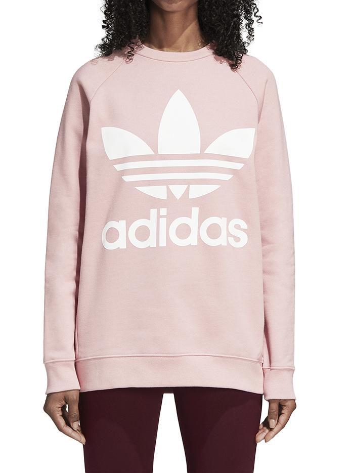 Adidas Womens Oversize Sweatshirt Pink Spirit