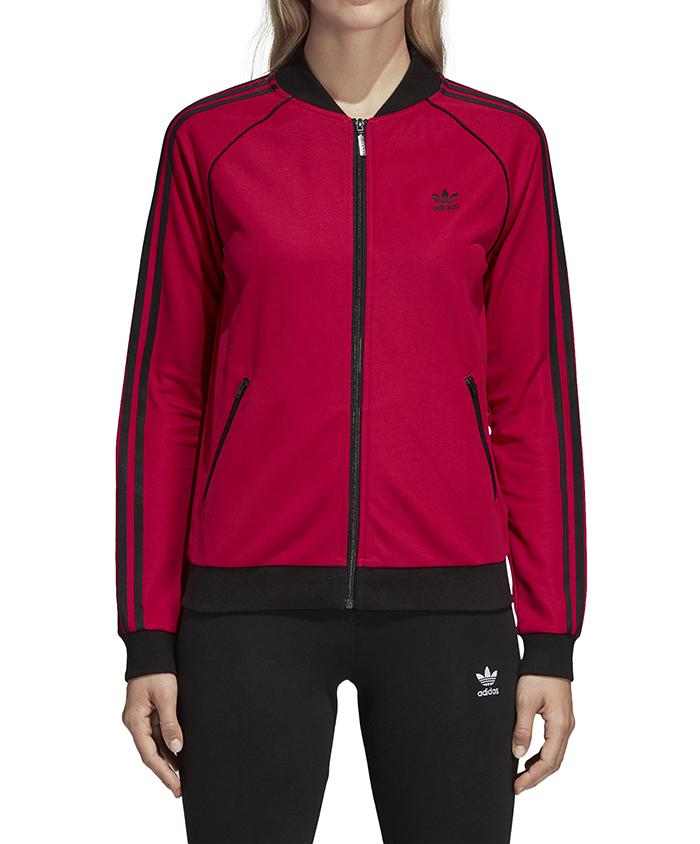 260c9370025ca Adidas Womens Leoflage SST Track Jacket Pride Pink - Boardvillage