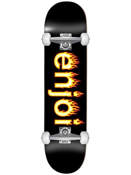 Enjoi Helvetica Flame Logo Complete 7.25