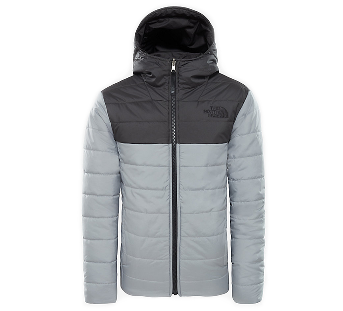 The North Face Youth Reversible Perrito Jacket Asphalt Grey