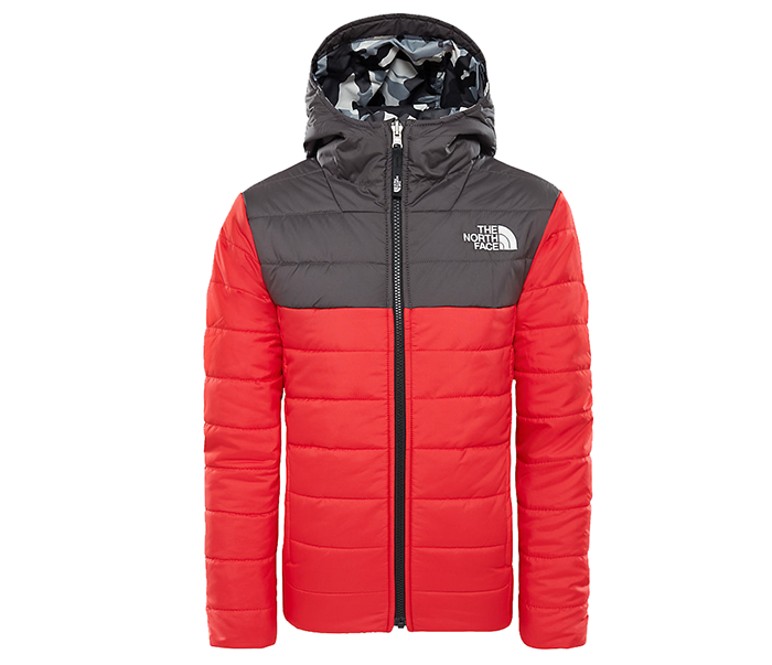 The North Face Youth Reversible Perrito Jacket TNF Red