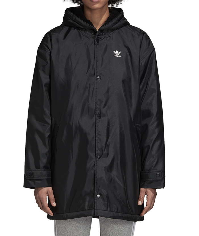 Adidas Womens Adicolor Jacket Black Boardvillage