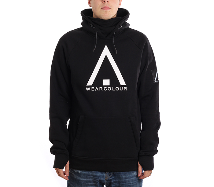 Wear Colour Bowl Hoodie Black