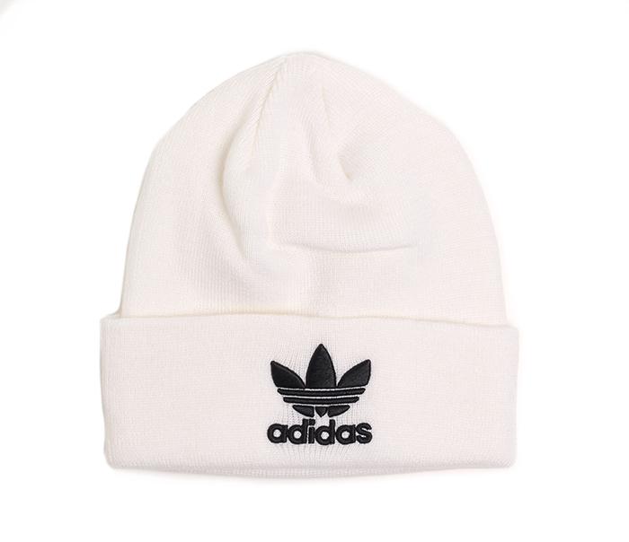 Adidas Trefoil Beanie White
