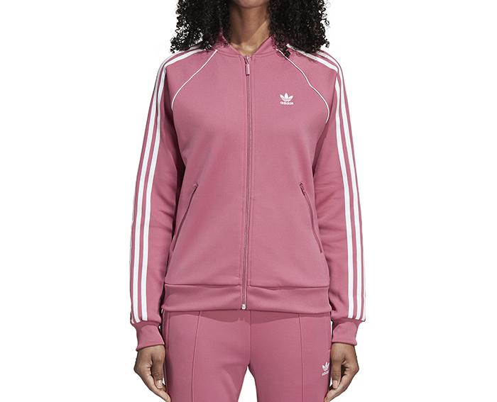 Adidas Womens SST Track Jacket Trace Maroon - Boardvillage 7f04d950df4e