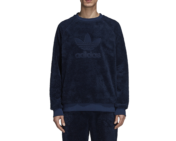 Adidas Winterized Crewneck Collegiate Navy