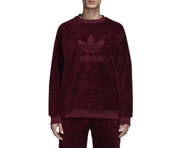 Adidas Winterized Crewneck Maroon