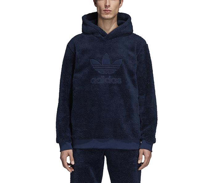 Adidas Winterized Hoodie Collegiate Navy